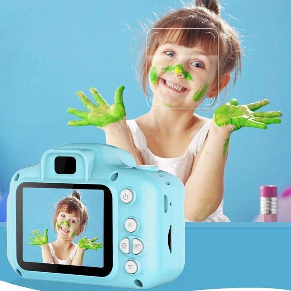 Цифровий дитячий фотоапарат GM 14/X200 Блакитний