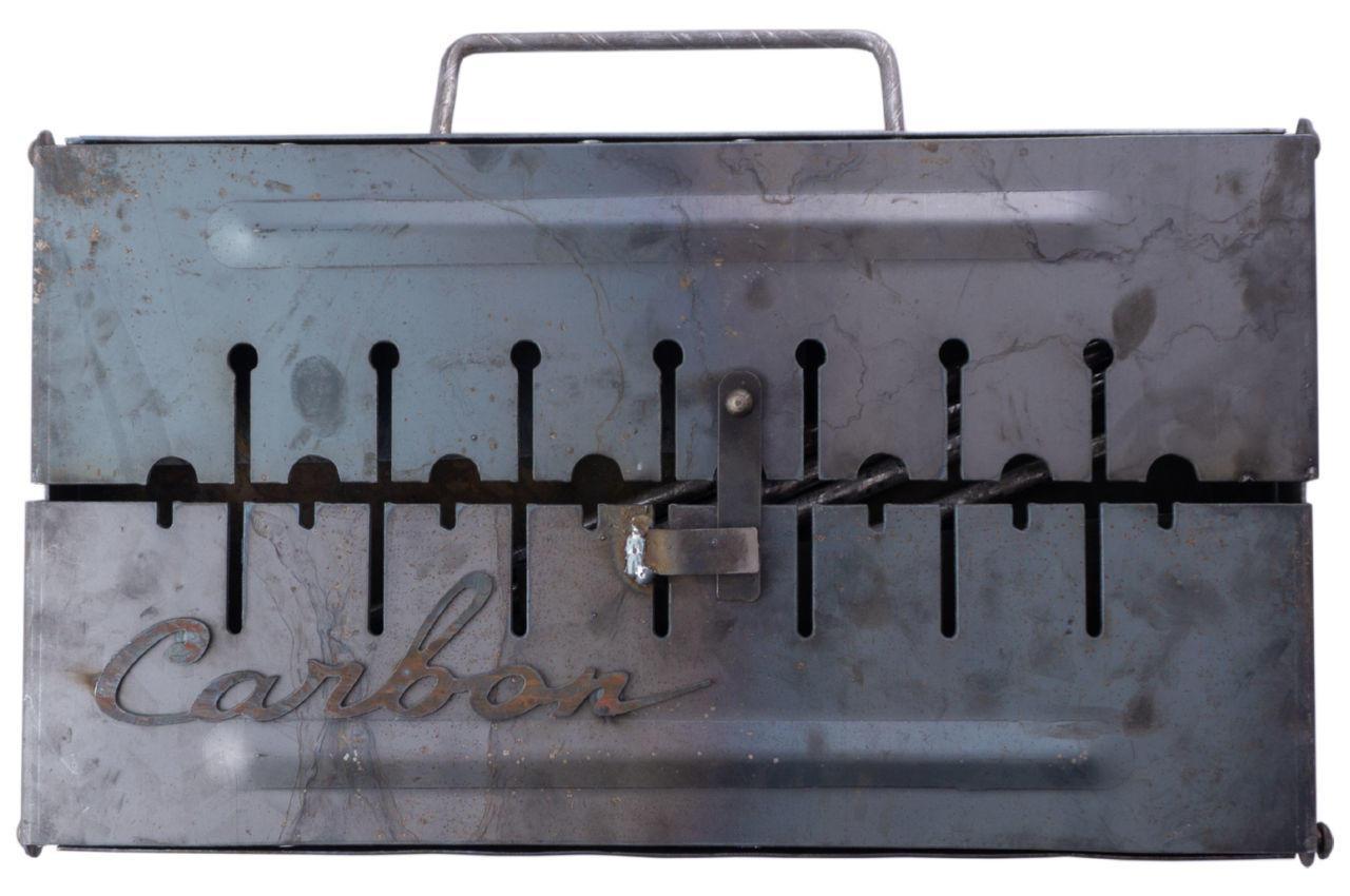 Мангал-чемодан Carbon - 2 мм x 6 шп.