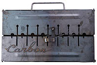 Мангал-чемодан Carbon - 2 мм x 6 шп., фото 1
