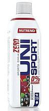 Концентрат минерализованного напитка Nutrend UNISPORT Zero 1000 ml вишня+чёрная смородина