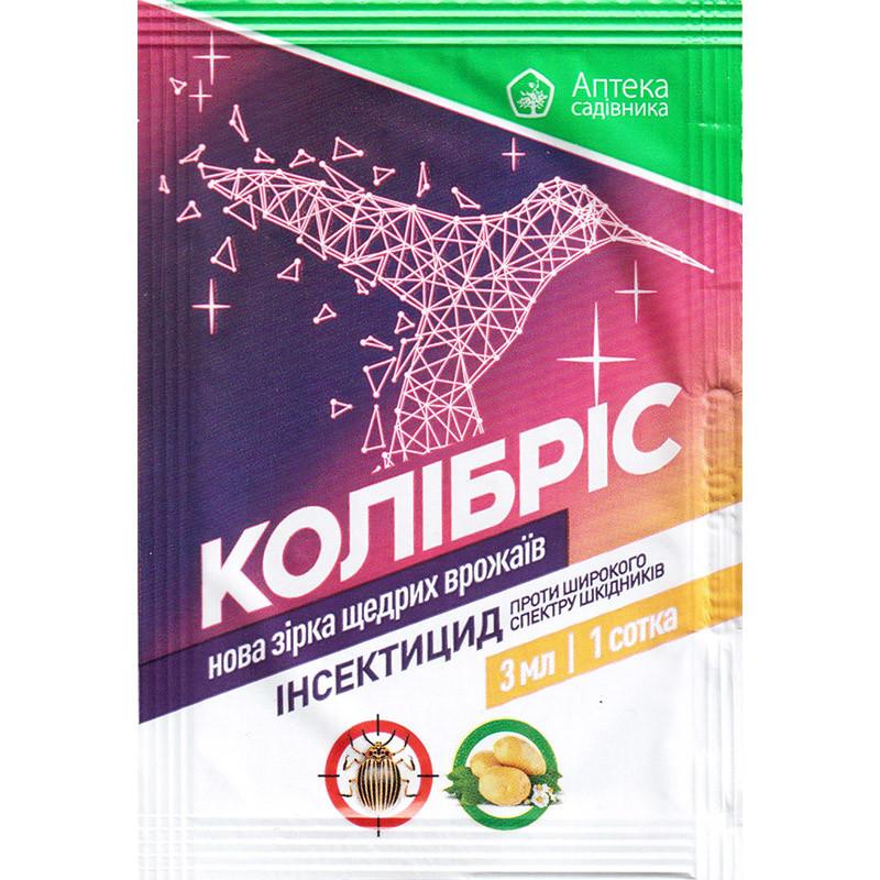 """Інсектицид """"Колібріс"""" для захисту картоплі від короладского жука, 3 мл, від Ukravit"""