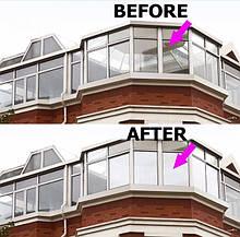 Пленка тонировочная для дома защита от УФ-лучей, пленка зеркальная для любых стекол 75см х 300см