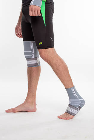 Бандаж спортивный для лодыжки Spokey Segro (830453), фиксатор голеностопного сустава, щиколотки, голеностопа, фото 2