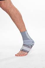 Бандаж спортивный для лодыжки Spokey Segro (830453), фиксатор голеностопного сустава, щиколотки, голеностопа, фото 3