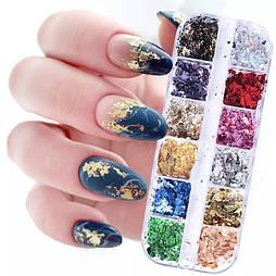 Поталь, набор для дизайна ногтей