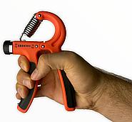 Еспандер кистьовий пружинний ножиці Cima з навантаженням 10-40 кг Помаранчевий
