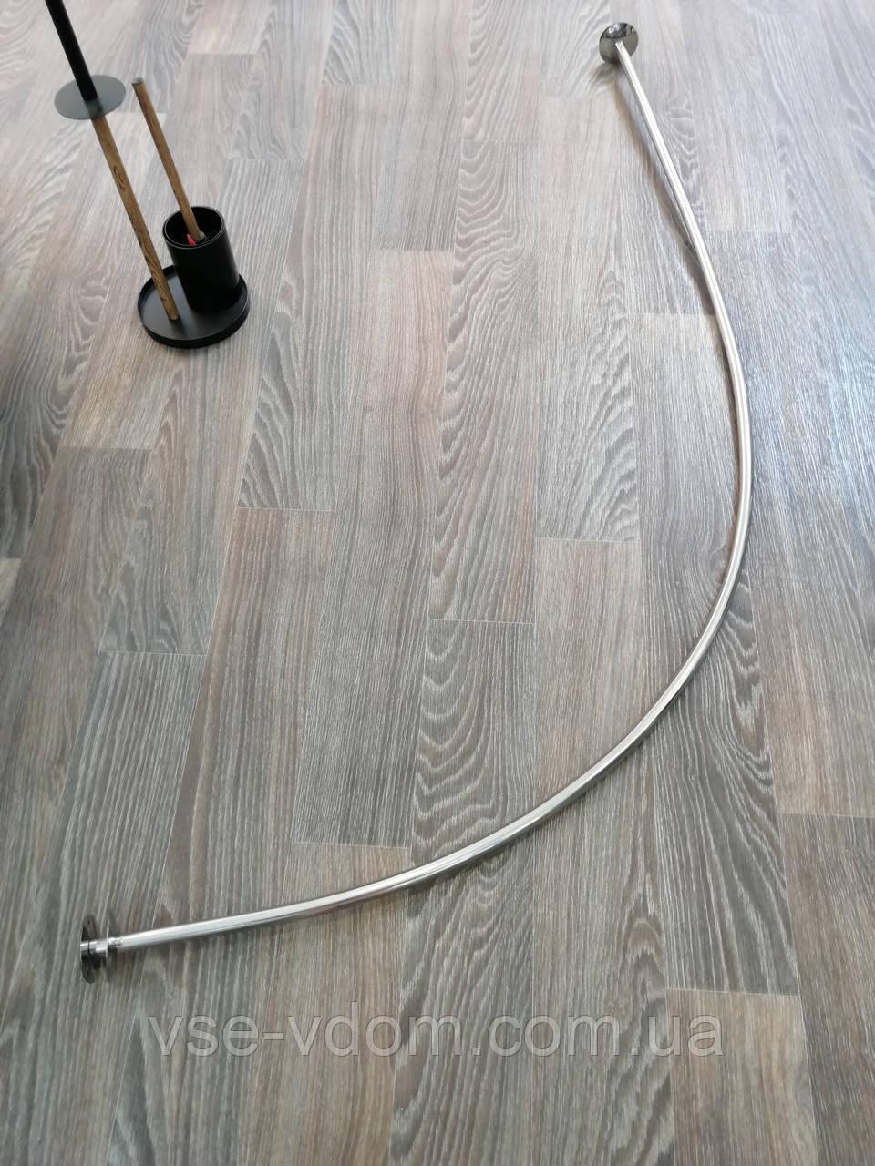 Карниз дуга для ванной 70*170 нержавейка