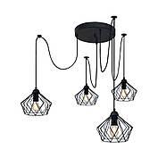 Подвесная люстра на 4-лампы CARAVAN/SP-4 E27 чёрный, фото 3