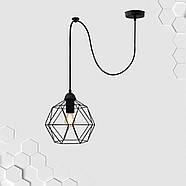 Подвесной светильник на 1-лампу ANTHILL/SP E27 чёрный, фото 2