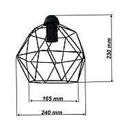 Подвесной светильник на 2-лампы ANTHILL/SP-2 E27 чёрный, фото 2