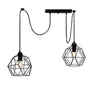 Подвесной светильник на 2-лампы ANTHILL/SP-2 E27 чёрный, фото 3