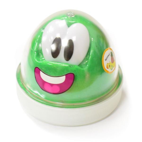 Пластилин Genio Kids-Art для детской лепки «SMART GUM» зеленый с ароматом ананаса (HG02-1)