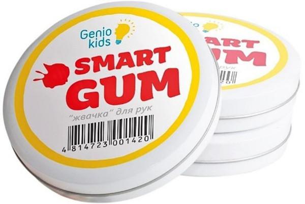 Пластилин Genio Kids-Art для лепки Smart Gum зеленый (HG01-3)