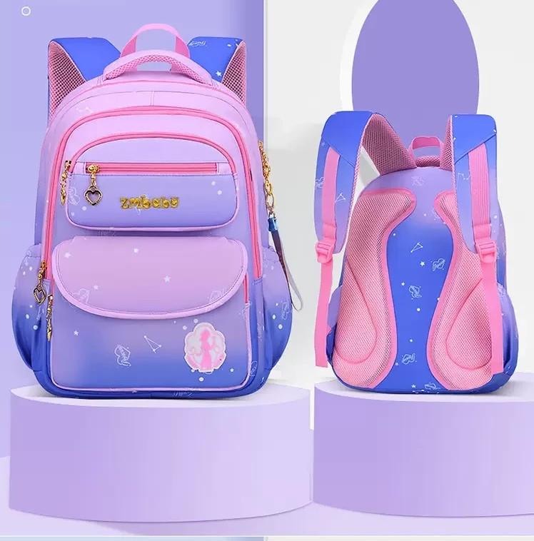 Шкільний рюкзак для дівчинки ортопедичний градієнт