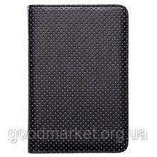 Обложка для электронной книги Pocketbook черный перф  (серый) (PBPUC-623-BC-DT)