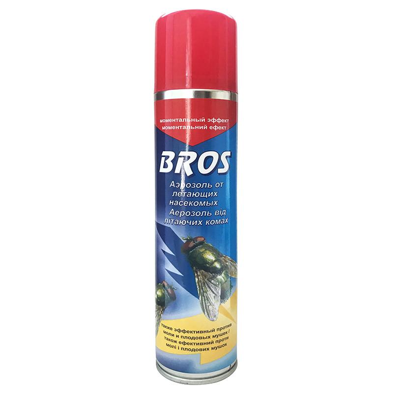 """""""Аерозоль від літаючих комах"""" 150 мл від BROS (оригінал, Польща)"""