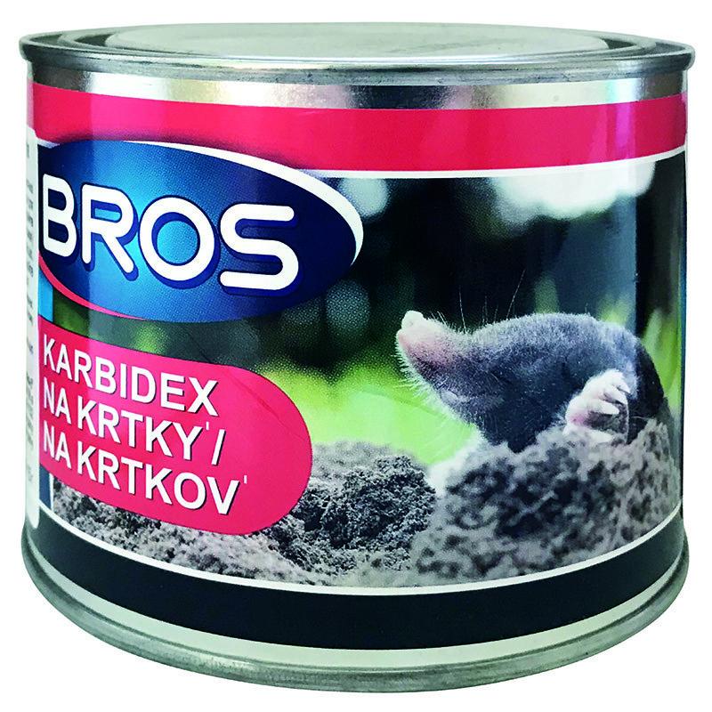 Засіб для відлякування кротів KARBIDEX (500 р) від Bros, Польща