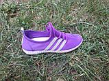 Кроссовки фиолетовые сетка, размеры: 36,37,38,39,40,41, фото 3