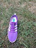 Кроссовки фиолетовые сетка, размеры: 36,37,38,39,40,41, фото 2