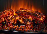 Электрокамин с порталом STONE MONTEBELLO AF-28 дуб антик, каминокомплект с обогревом, с диагональю 71 см, фото 2