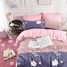 Комплект постельного белья полуторный сатин Bella Villa B-0199