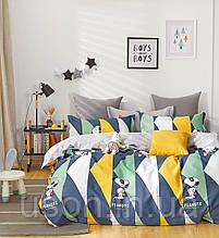 Комплект постельного белья полуторный сатин Bella Villa B-0276