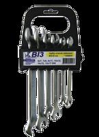 Набор ключей гаечных (6х7;7х8;9х11;10х12;14х15;13х17) пласт. державка