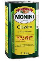 Олія оливкова Монини 5л