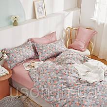Комплект постельного белья полуторный сатин Bella Villa B-0290