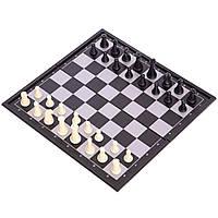 Шахи дорожні на магнітах, пластик, р-р 19х19см. (SC5477)
