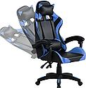 Крісло комп'ютерне ігрове PRO GAMER JAGUAR (синє), фото 2