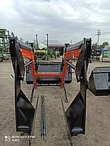 Навантажувач Фронтальний Швидкознімний (КУН) НТ-1700J c джойстиком New Holland 6030, фото 3