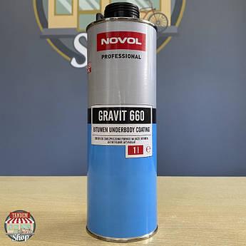 Засіб для захисту шасі Novol Gravit 660, 1 літр