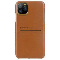 """Кожаная накладка G-Case Cardcool Series для Apple iPhone 11 Pro (5.8"""")"""