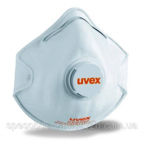 Респіратор Uvex 2210 FFP2 N95 c клапаном Упаковками по 15 штук