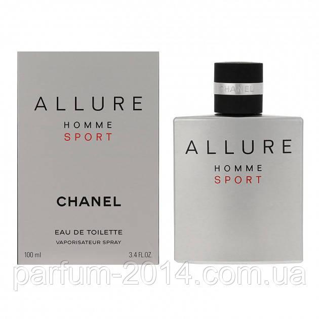 Мужская туалетная вода аллюр хом спорт Allure Homme Sport 100 ml (лиц) парфюм духи запах одеколон аромат