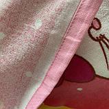 Пончо, детское полотенце с капюшоном, хлопок 100%, фото 5