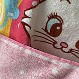 Пончо, детское полотенце с капюшоном, хлопок 100%, фото 6