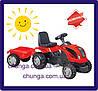Трактор на педалях MMX MICROMAX (01-010) з причепом