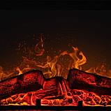 Електрокамін з порталом SYDNEY AF-23S ArtiFlame дуб антик каминокомплект (З ІМІТАЦІЄЮ ПОТРІСКУВАННЯ ДРОВ), фото 4
