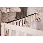 Ліжко Twins Pinocchio слонова кістка / горіх, бежевий / коричневий, фото 2