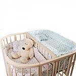 Ліжко Twins для двійні 110х110, слонова кістка, бежевий, фото 2