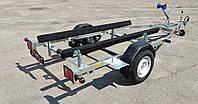 Оцинкований лафет, причіп, для ПВХ човни, гідроцикла,, фото 1