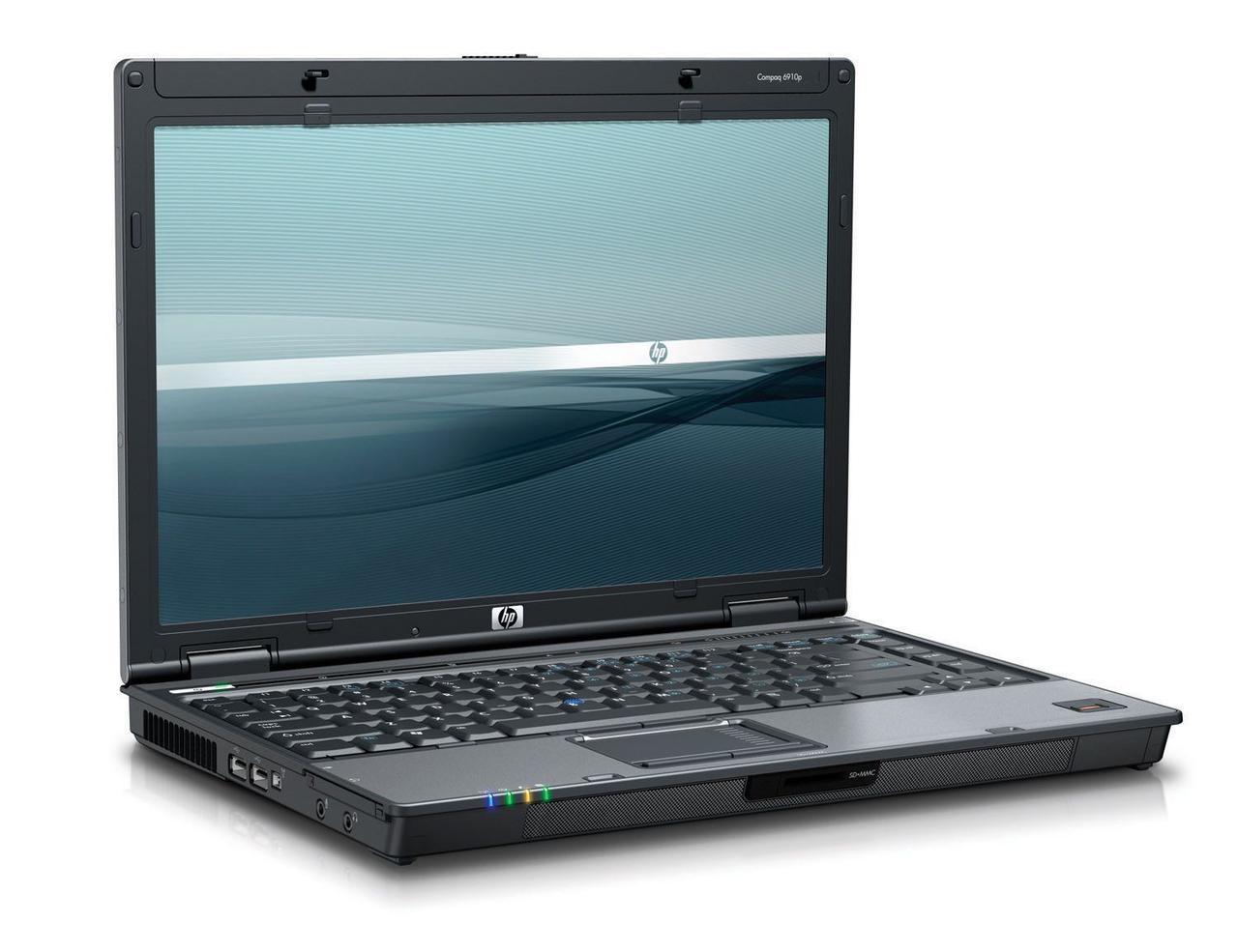 Ноутбук HP Compag 6910p-Intel-Core 2 Duo-T7500-2.2GHz-1Gb-DDR2-320Gb-DVD-R-W14-(B)- Б/У