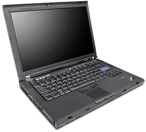 Ноутбук Lenovo ThinkPad T61- Intel-C2D-T7500-2,2GHz-2Gb-DDR2-320Gb-W15.4-DVD-R-NVIDIA Quadro NVS 140M-(B)- Б/В