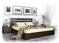 Двуспальная деревянная кровать Селена