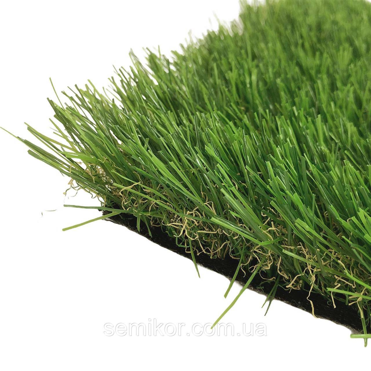 Декоративная искусственная трава ecoGrass U-40