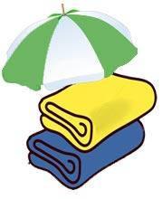 Полотенца для пляжа и спорта