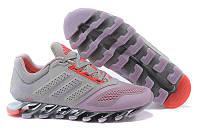 Кроссовки женские Adidas Springblade (в стиле адидас) серые, фото 1