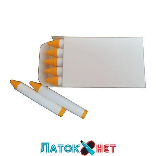 Крейда воскова жовтий 13 мм біла етикетка Україна